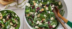 Cranberry Almond Spinach Salad Recipe | Hidden Valley®