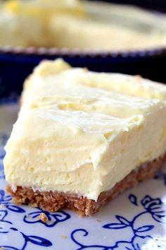 Cream Cheese Lemonade Pie via @bestblogrecipes