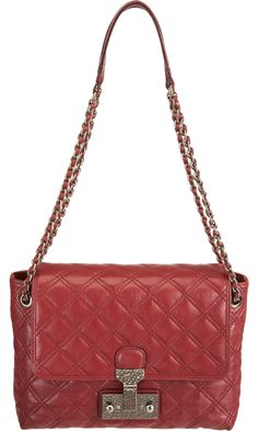 This beautiful bag from Marc Jacobs (Barneys NY) is so amazing! And very practical for me since I'm a teenager, and don't need to bring as much in my purse as an adult. I actually believe it's the perfect size for my iPad!