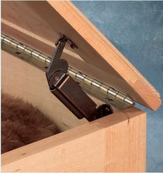 How to Select Hardware for Blanket Chest Lid Supports and Piano Hinges. Rockler.com