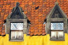 Culross Windows, Fife, Scotland