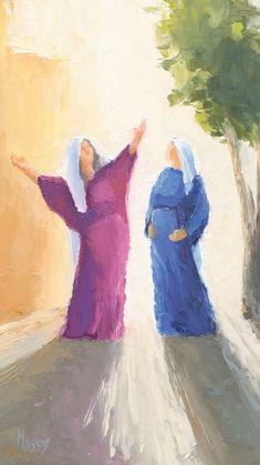 Rejoice - Cell Phone Backgrounds - Thank You – Ascension Lds Art, Bible Art, Catholic Art, Religious Art, Arte Lds, Christian Artwork, Christian Artist, Jesus Painting, Biblical Art