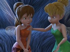 Tinker Bell never likes to see Fawn upset.