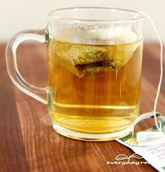 chamomile tea & ten natural remedies for relief from gas & bloating