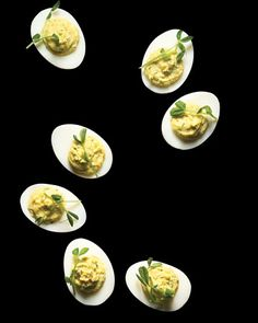 wasabi deviled eggs #easter #party