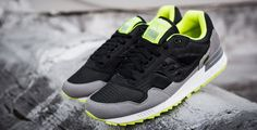 Saucony Shadow 5000 Black/Grey-Neon