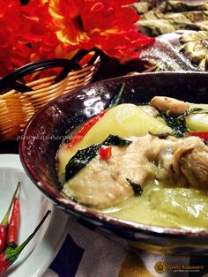 Chicken Halang Halang (Visayan Spicy Chicken Stewed in Coconut Milk) | Pinoy Kusinero