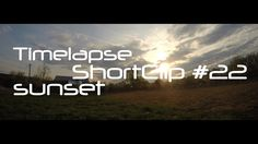 Apus innorat-Timelapse Season 1, Gopro, In This Moment, Sunset, Videos, Sunsets, The Sunset