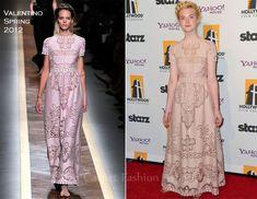 Elle Fanning In Valentino - 15th Annual Hollywood Film Awards Gala