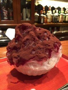 かき氷喫茶バンパク@三軒茶屋「手作りみるくベリーココア」800円
