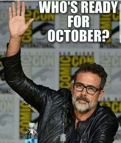 "Jeffrey Dean Morgan ""Negan"" | The Walking Dead Season 8"