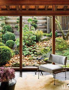 decorator Ken Fulk embraces a handsome, rustic vibe at his hilltop San Francisco home,