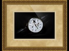 Breguet Moonphase Triple Calendar Swiss Watch Framed Print and Photo in Canvas, Beautiful and Unique
