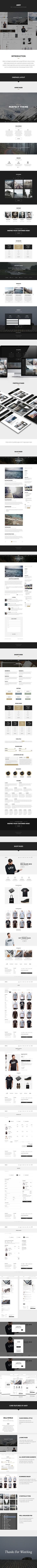 Andy – Multi-concept E-commerce PSD pack on Behance
