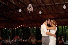 pretty pavilion wedding reception