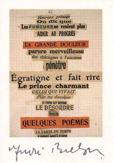 andre breton collage - Google Search