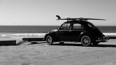 vintage vw bug with surfboards photography  | volskwagen | Tumblr