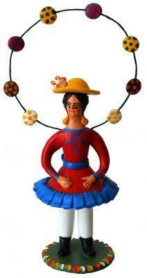 Do Tempo da Outra Senhora: Irmãs Flores - Bonequeiras de Estremoz Portugal, Arte Popular, Naive Art, Smurfs, Pottery, Symbols, Portuguese, Figurative, Folk