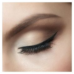 How to Apply Eye Liner Flawlessly ❤ liked on Polyvore featuring beauty products, makeup, eye makeup, eyeliner, beauty and eyes