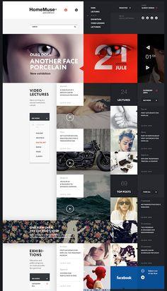 Infographics , UI Design et Web Design - Website - CoDesign Magazine Pop Design, Flat Web Design, News Web Design, Creative Web Design, Creative Hub, Grid Web Design, Web News, Design Ideas, Cv Website