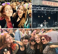 A fantastic Boomtown Sunday watching Frank Turner with my glittery ladies!