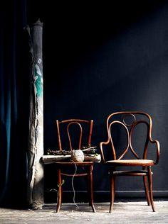 konfetti:    The Swedish Stylist Hans Blomquist and His Dark Inspirations