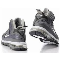 low priced c2ba6 07f84 ... closeout asneakers4u nike air max lebron 9 shoes gray white a450c 82dd2