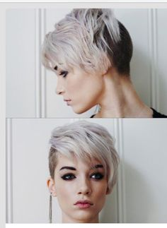 Undercut with two-toned color