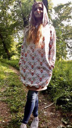 Deer hoodie size 42 | Etsy Digital Pattern, Hoodies, Sweatshirts, Deer, Bell Sleeve Top, Trending Outfits, Vintage, Etsy, Tops