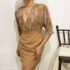 Vintage Tops, February, Chiffon, Two Piece Skirt Set, Tunic Tops, Formal Dresses, Skirts, Fashion, Silk Fabric