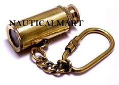Other Maritime Antiques Brass Keychain Hooks Lot 100 For Telescope Magnifier Nautical Mini Keyrings 50% OFF