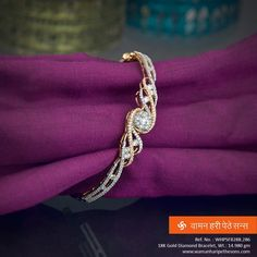 Gorgeous gold diamond #bracelet from our bright collection.   #jewelerycollection #indianjewellery #jewellerylove #marathi #traditionaljewellery #goldjewellery #ethnicjewellery #wedding #indianwedding Maharashtrian Jewellery, Diamond Bangle, Diamond Jewelry, Gold Jewelry, Gold Bangles, Bangle Bracelets, Gold Necklaces, Gold Accessories, Bright