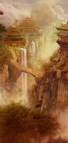 The Forbidden City by Milkmom.deviantart.com on @deviantART