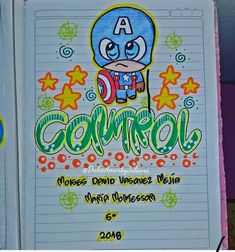 School Notebooks, Smurfs, Kids Room, Bullet Journal, Stamp, Lettering, Cool Stuff, Creative, Diy