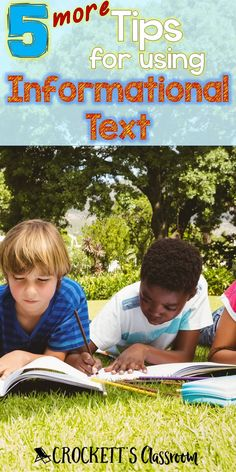 More Tips for using Informational Text Informational text is used more and more in our classrooms. Here are some times for using informational texts in your daily reading lessons. Guided Reading Lessons, Teaching Reading, Reading Resources, Math Lessons, Reading Conference, Comprehension Activities, Reading Comprehension, Reading Centers, Literacy Centers