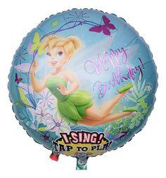 Tinker Bell höchstpersönlich wünscht dem Beschenkten, dass alle Wünsche und Träume wahr werden. In Sachen Wünsche erfüllen ist Tinker Bell nämlich ein echter Profi!