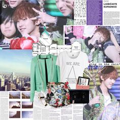 """""""♡ Jin Jin oppa"""" by thunder-dollfaycee ❤ liked on Polyvore"""