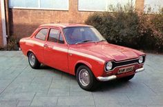 Ford Escort Mexico - 1970  When Ford made proper performance cars