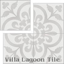 """Raylen A"" Cement Tile, from Villa Lagoon Tile"