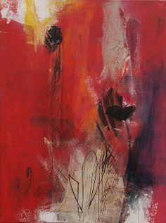 Abstrakte Kunst von Iris Rickart / Unikatbild 194 / Mischtechnik