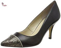 Lotus  Leilani, Escarpins femme - Noir - Black (Blk Leather), 40.5 - Chaussures lotus (*Partner-Link)