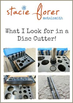 What to consider as you contemplate adding a disc cutter to your jewelry studio!