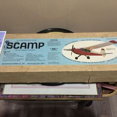 """SIG SCAMP RC MODEL AIRPLANE PARTIAL BALSA & FOAM KIT  45"""" by MIKE GRETZ READ! #SIG"""