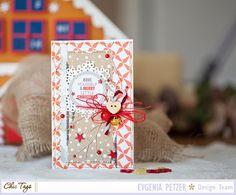 A merry little christmas card
