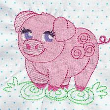 Awesome Animals - Free Instant Machine Embroidery Designs