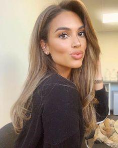 Brown Hair Balayage, Brown Blonde Hair, Blonde Highlights, Dyed Hair Brown, Light Brunette Hair, Blonde Wig, Blonde Balayage, Ombre Hair, Real Human Hair Extensions