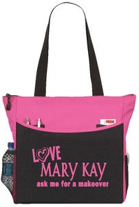 Love Mary Kay Tote Bag Handbag Purse Carry Cosmetic Products