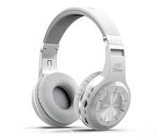 New BluedioH+ Bluetooth Headset Wireless Over Ear BT4.1 Headphones Earphones with Mic Bass Stereo Music Micro-SD TF FM