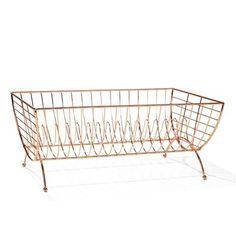 Copper Wire Dish Rack | Kmart