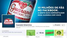 Guaraná Antartica crea una lata especial para celebrar sus 10 millones de fans en Facebook
